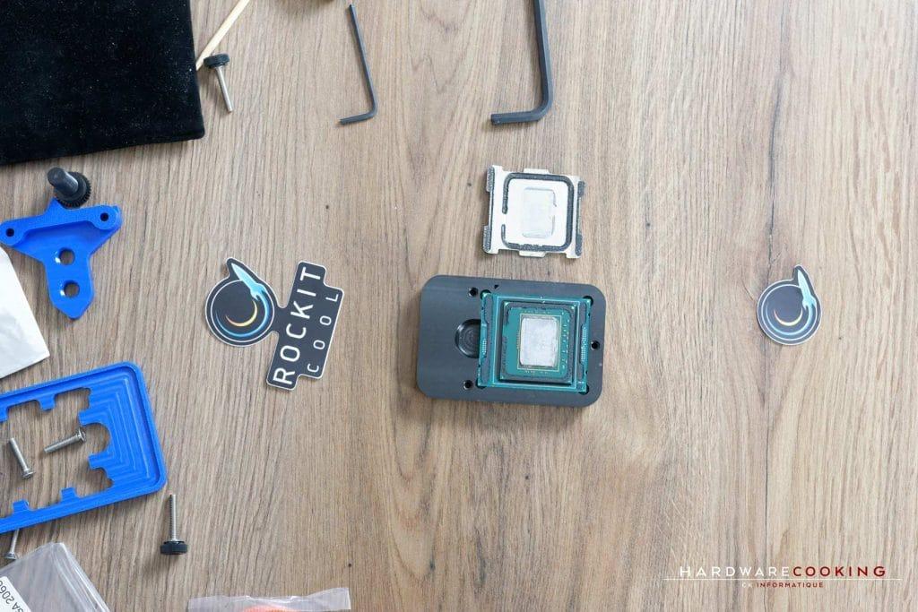 Test Rockit 99 processeur delid