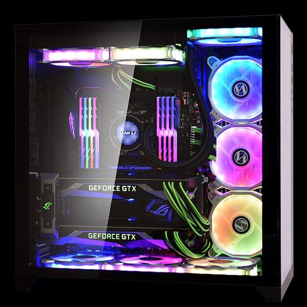 Boîtier Lian Li PC-O11 Dynamic Razer Edition