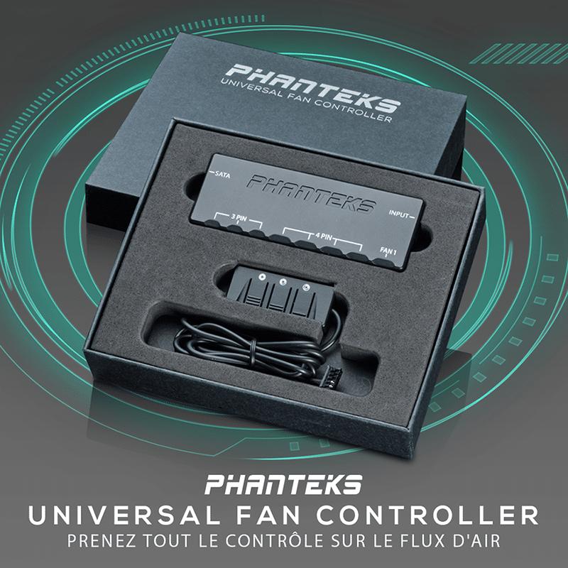 Phanteks Universal Controleur, boîtier de contrôle pour contrôler plusieurs ventilateurs