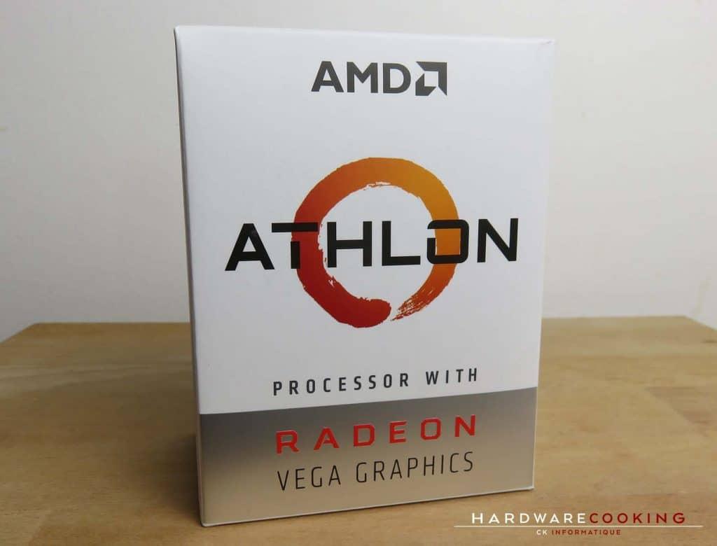 Test processeur AMD Athlon 240GE