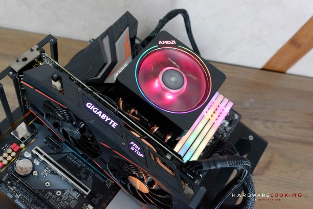 Test AMD StoreMI Technology Ryzen 7 2700X