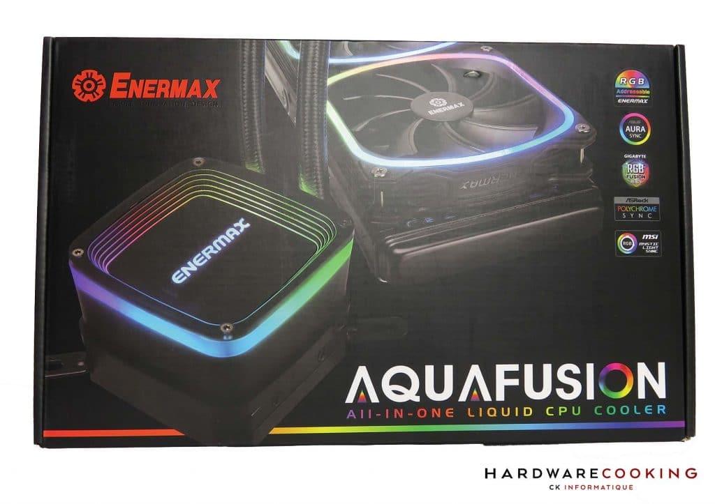 Test Enermax Aquafusion 240 boite