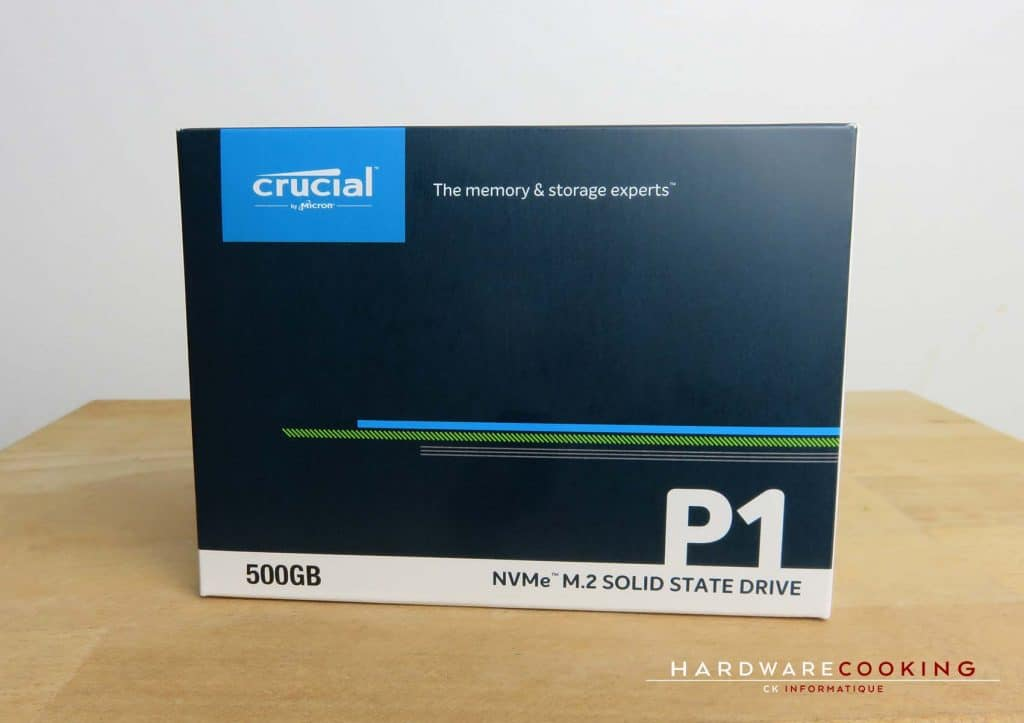 Test SSD Crucial P1 500 Go