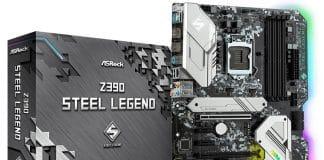 Carte mère ASRock Z390 Steel Legend