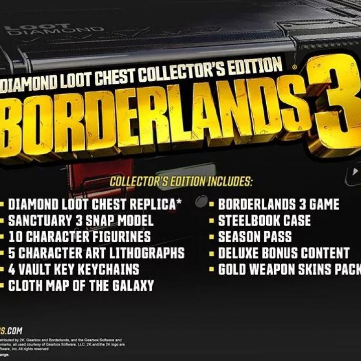 Borderlands 3 Edition Diamond Loot Chest