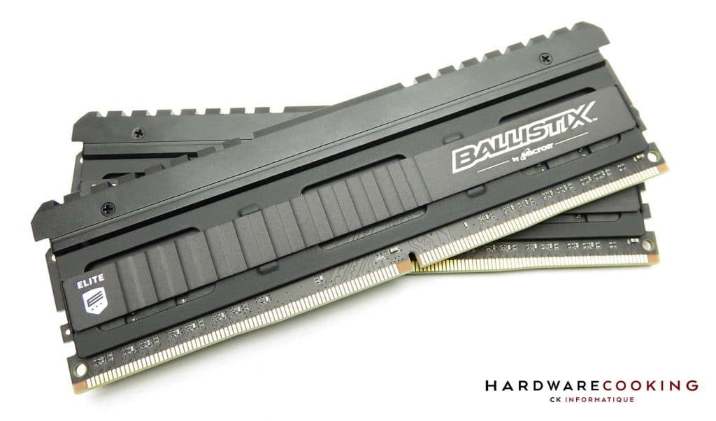 Test Ballistix Elite 3600 MHz
