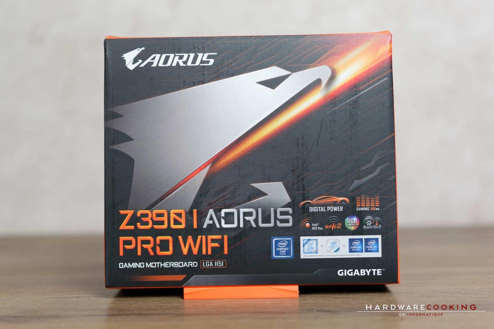 Test : GIGABYTE Z390 I AORUS Pro Wifi : une carte mère toute