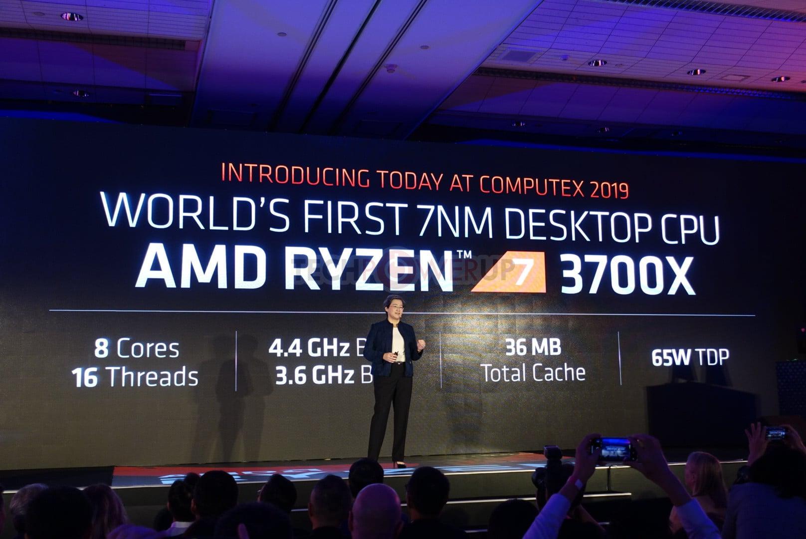 Procersseur AMD Ryzen 7 3700X