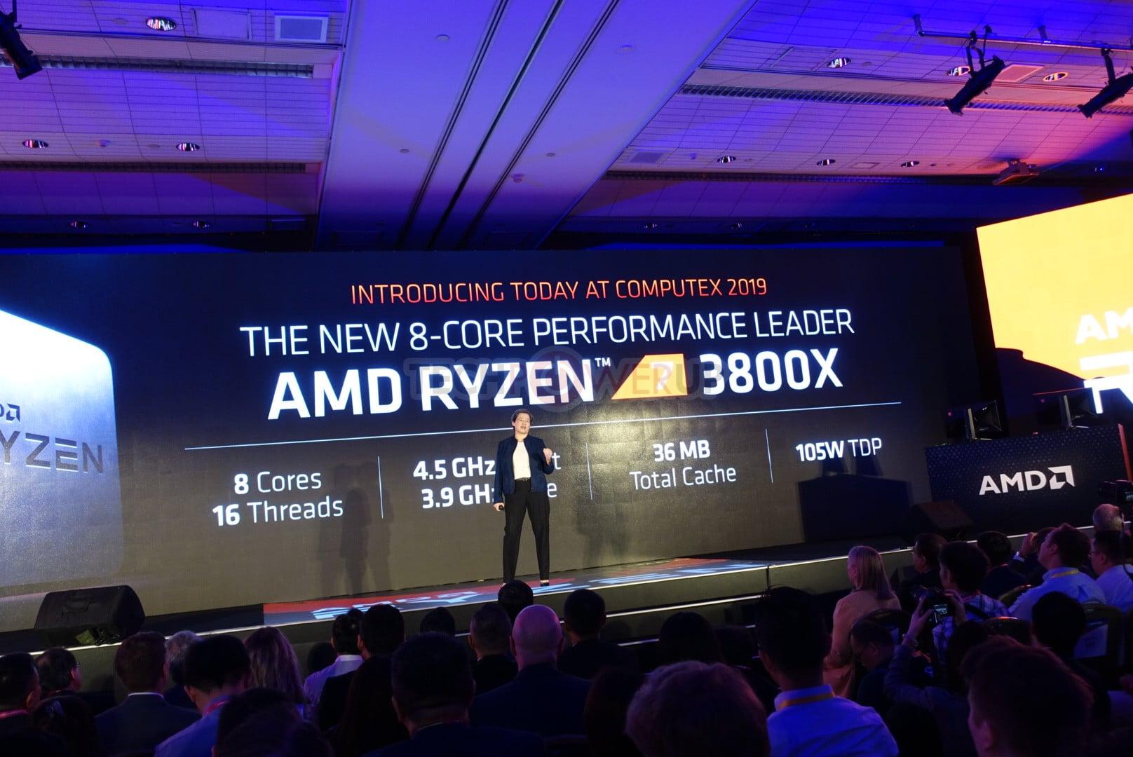 Procersseur AMD Ryzen 7 3800X