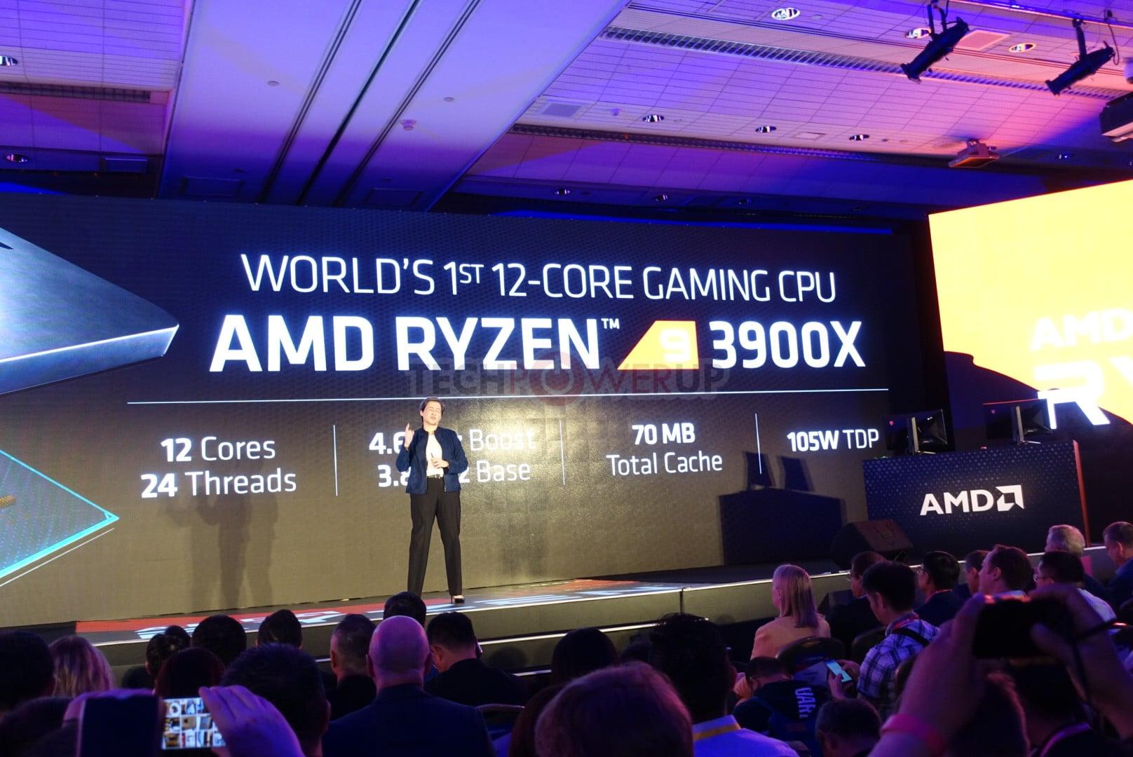 Procersseur AMD Ryzen 7 3900X