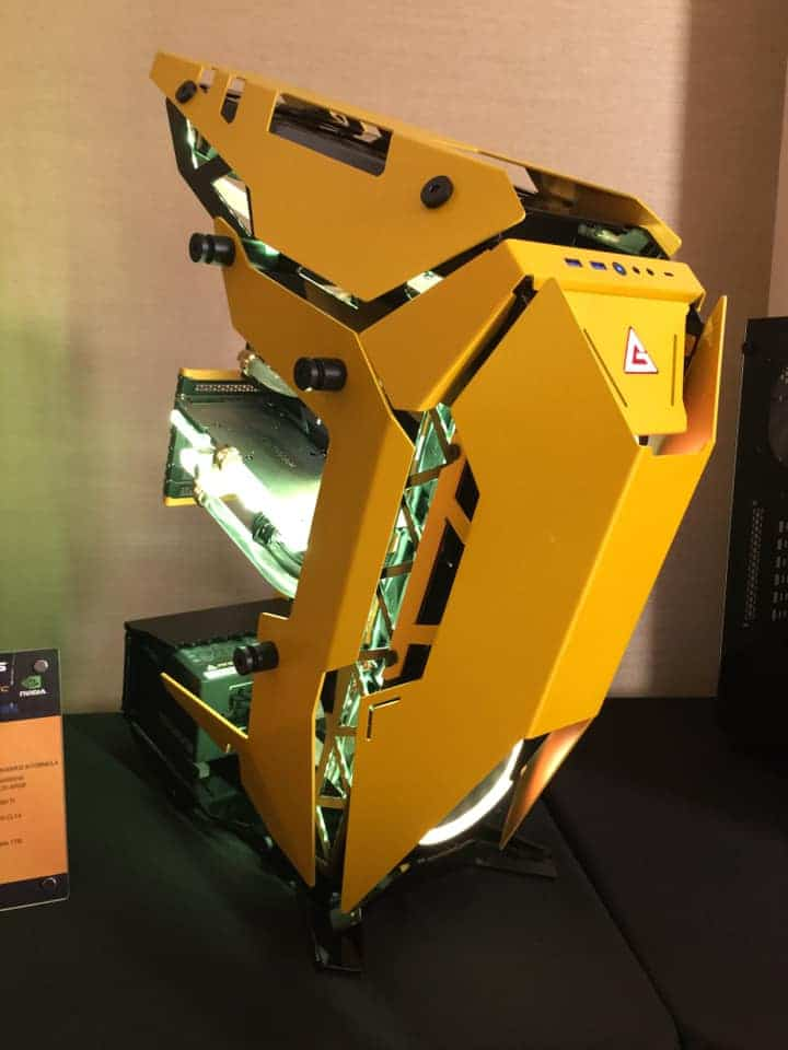 Antec Torque yellow boitier