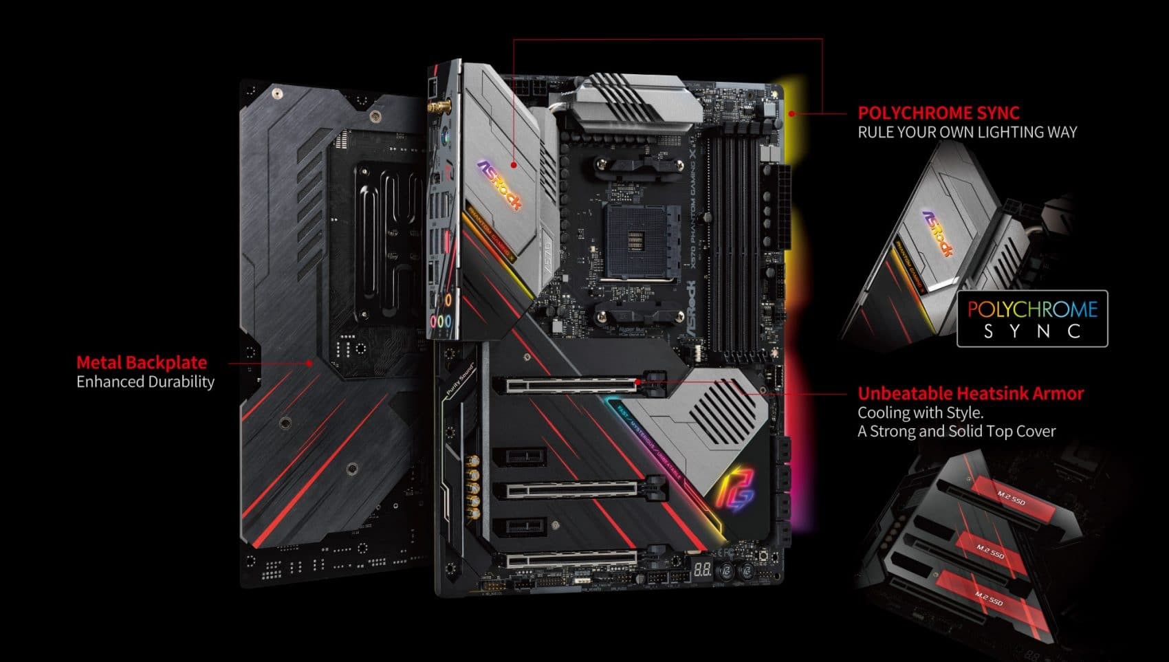 Carte mère ASRock X570 Phantom Gaming X