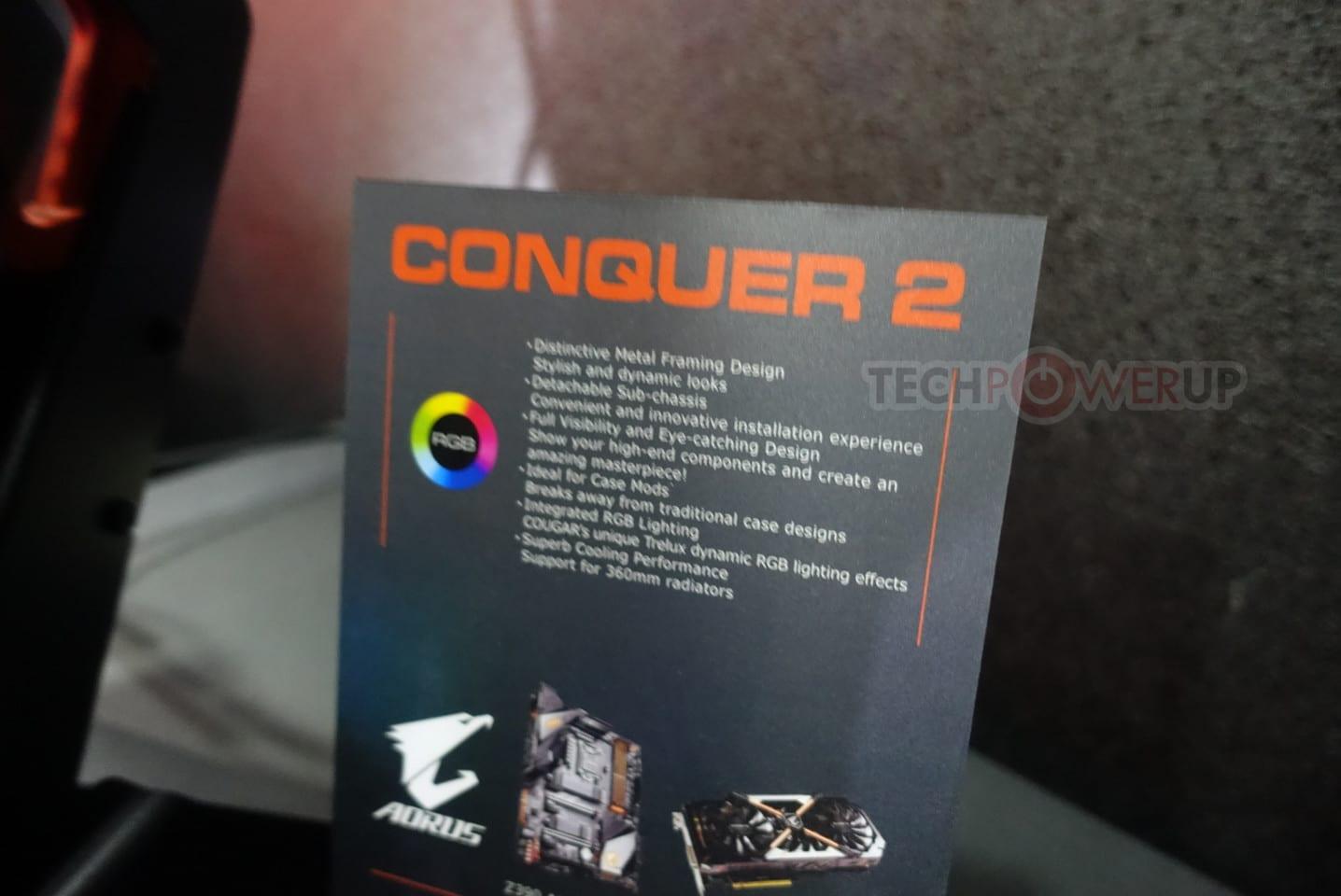 Boîtier Cougar Conquer 2