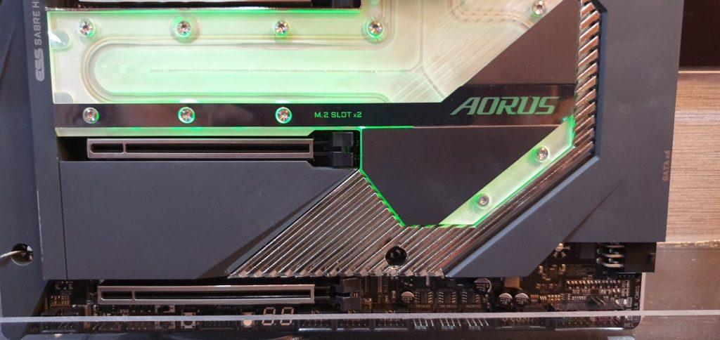Carte mère Gigabyte X299G AORUS Xtreme Waterforce