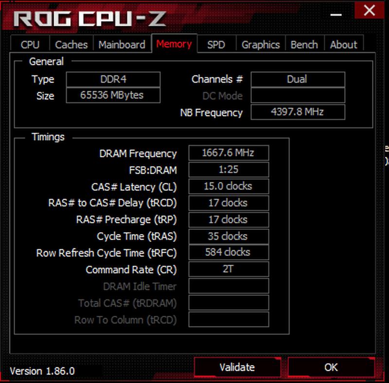CPU-Z OC 3333 MHz