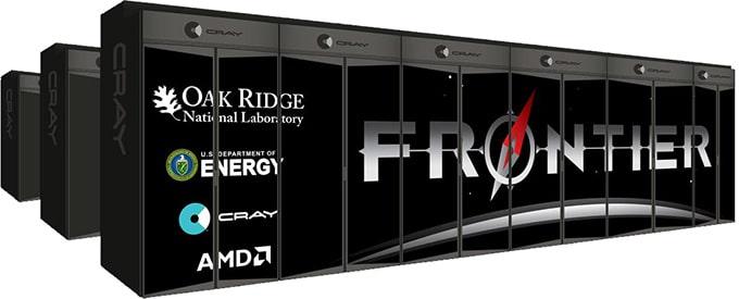 Frontier supercomputer AMD Cray