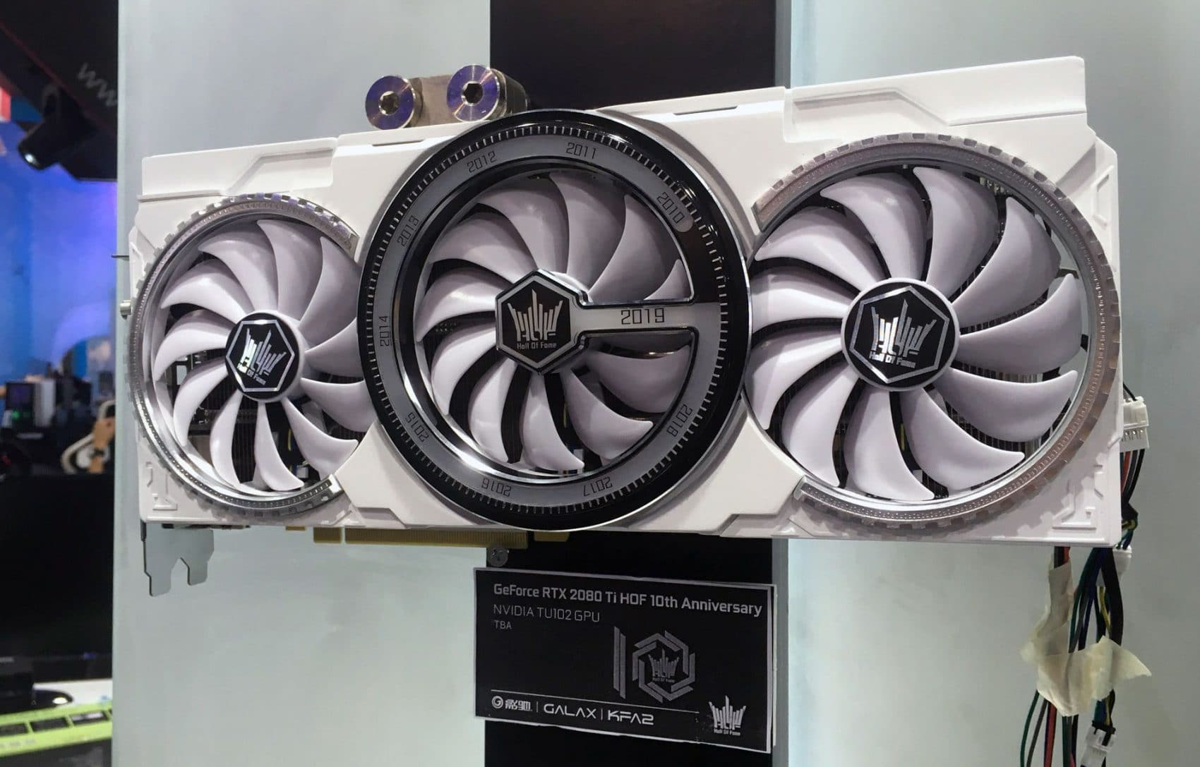 GALAX GeForce RTX 2080 Ti HOF 10th Anniversary Edition