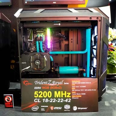 G.SKILL Trident Z ROYAL RGB 5200 MHz
