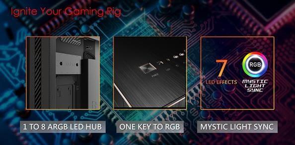 MSI MPG Sekira 500 hub RGB