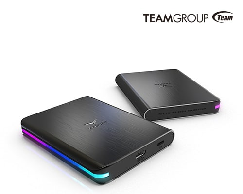 SSD externe TeamGroup T-Force Treasure
