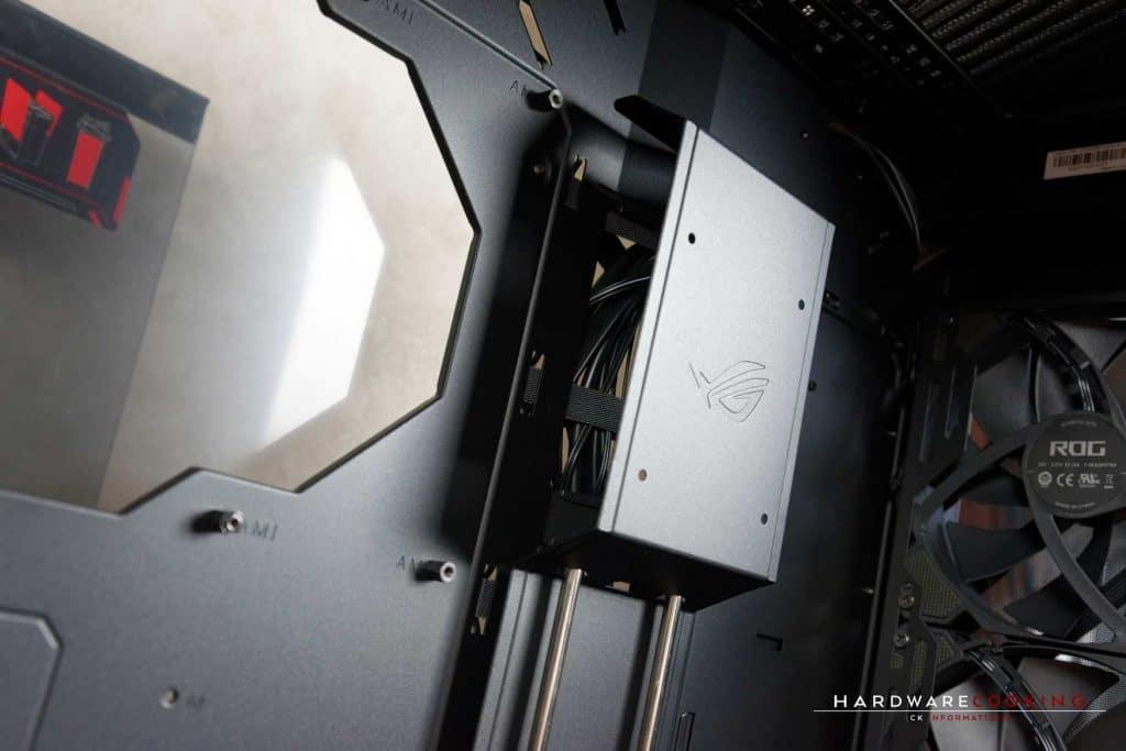Test ASUS ROG STrix Helios support à carte graphiques plus support pour ROG Aura Terminal