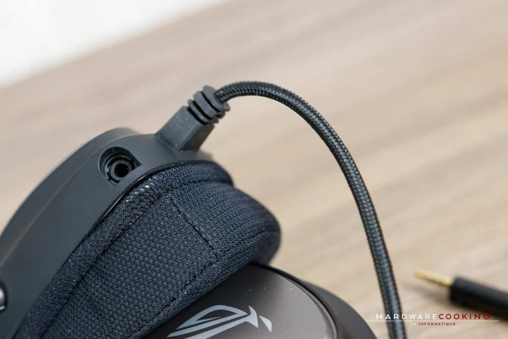 Micro détachable du casque ASUS ROG Delta Core