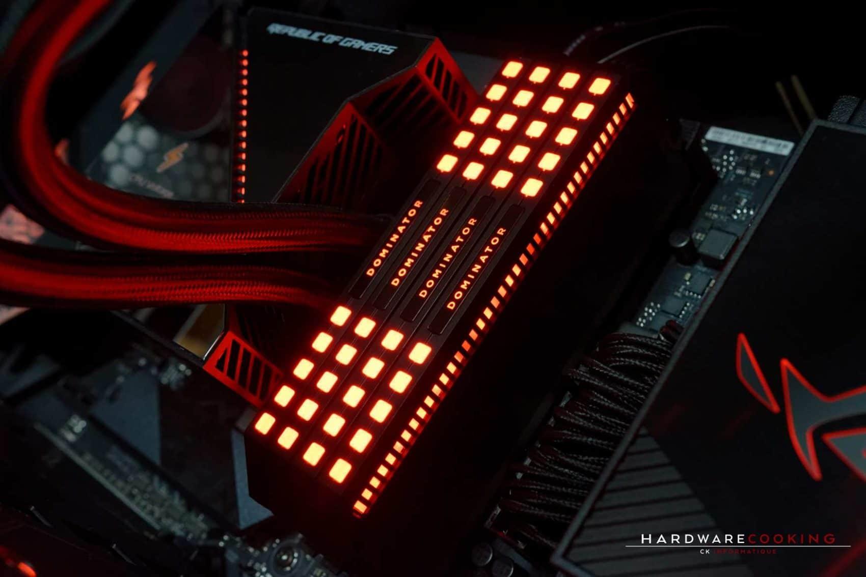 Test Corsair Dominator Platinum RGB