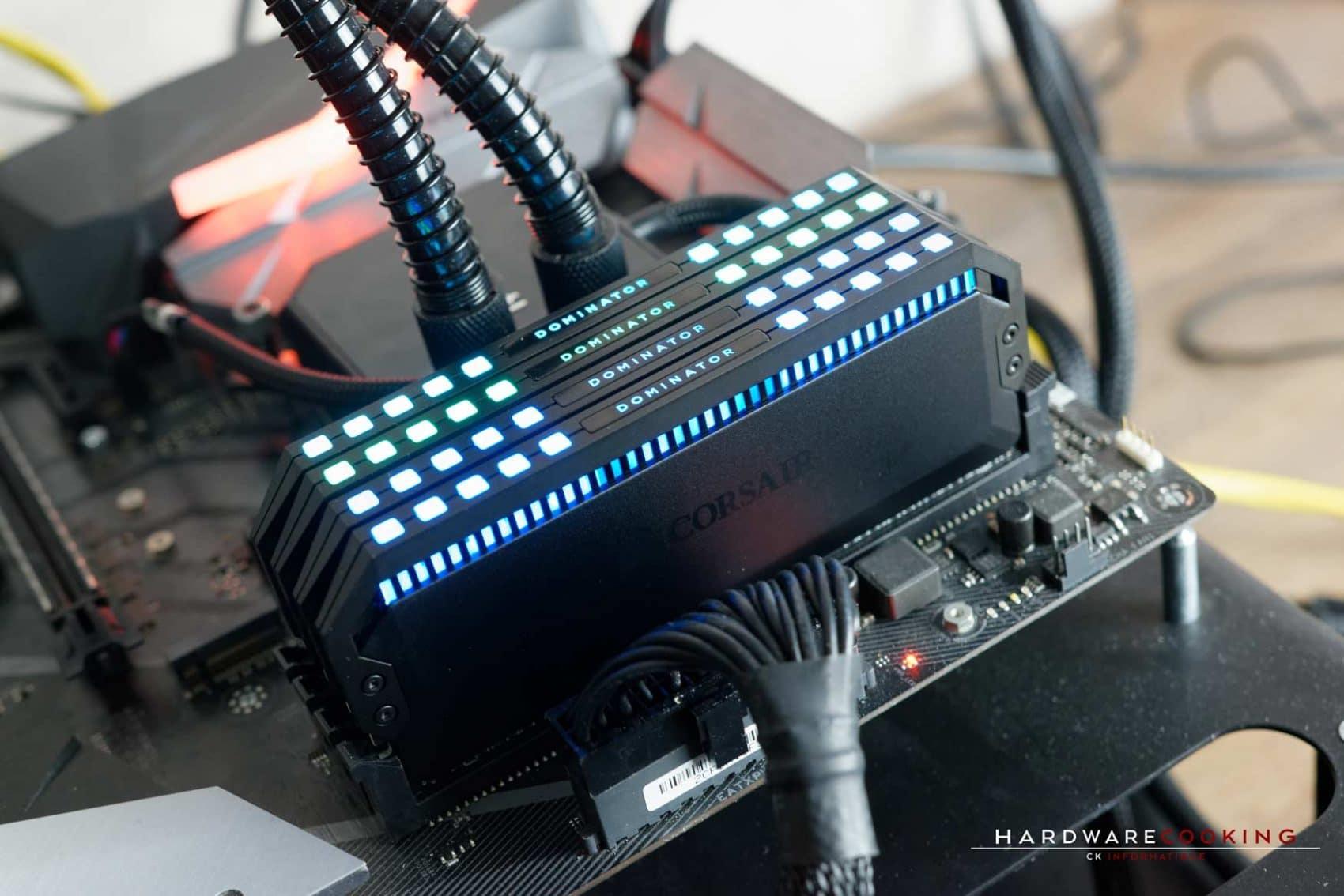 Éclairage RGB Corsair Dominator Platinum RGB
