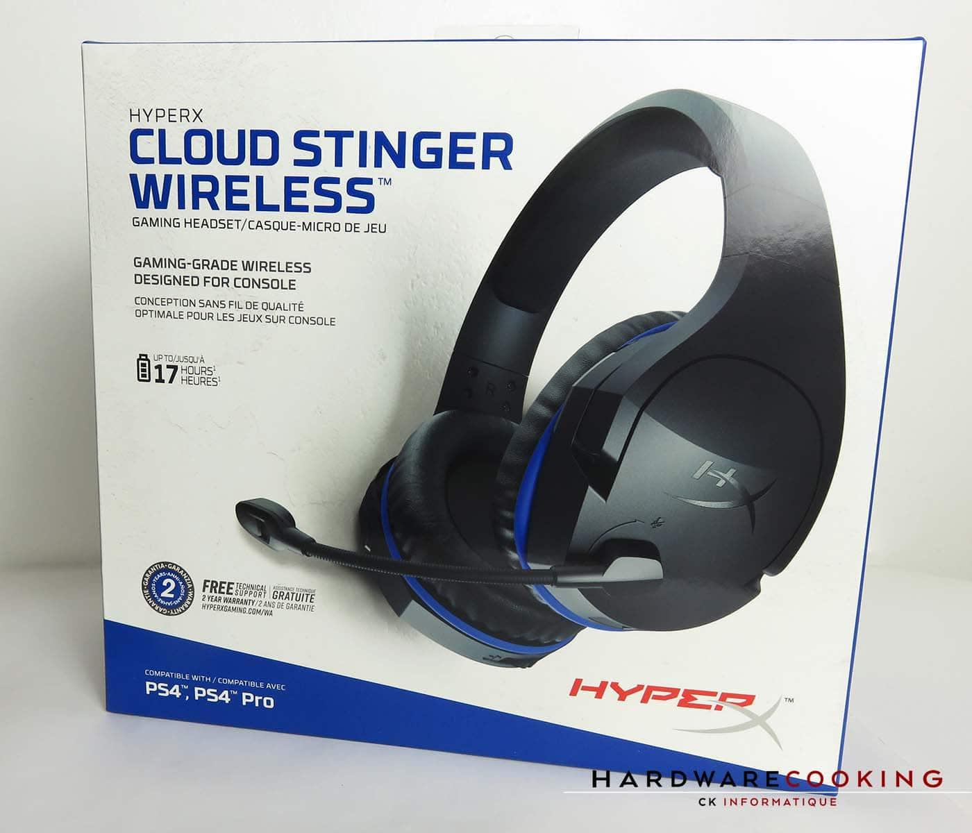 casque hyperx cloud stinger gaming tesdt