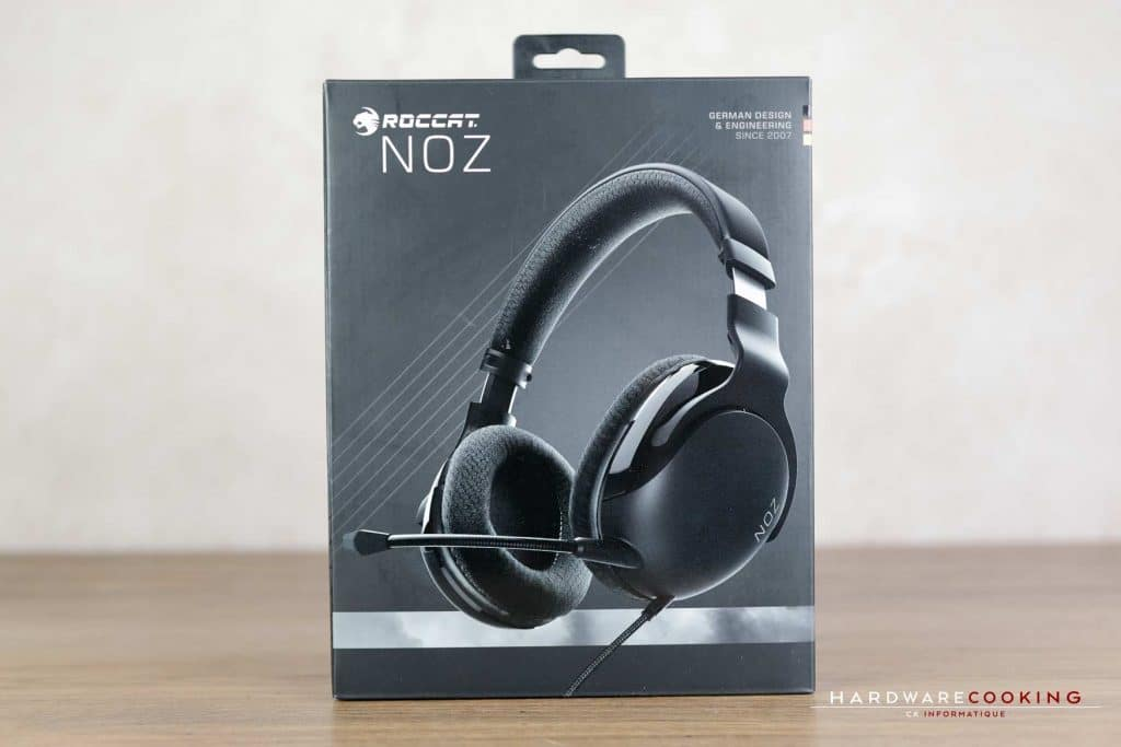 Packaging casque Roccat Noz