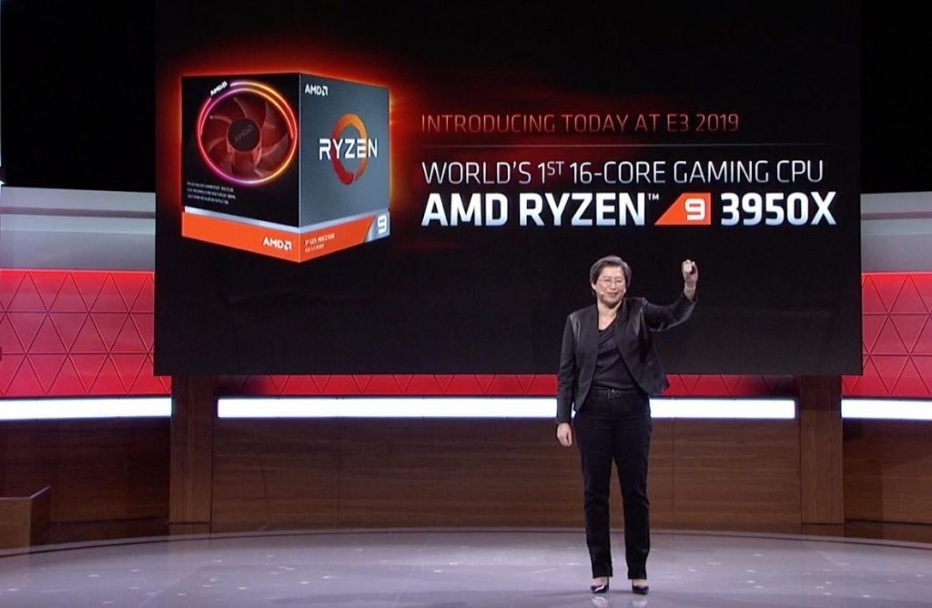 AMD Ryzen 9 3950X Lisa Lu