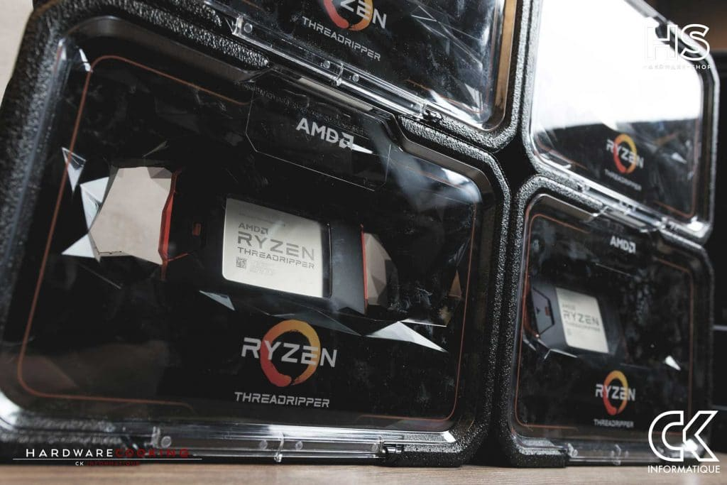 Processeur AMD Ryzen Threadripper 2920X x4