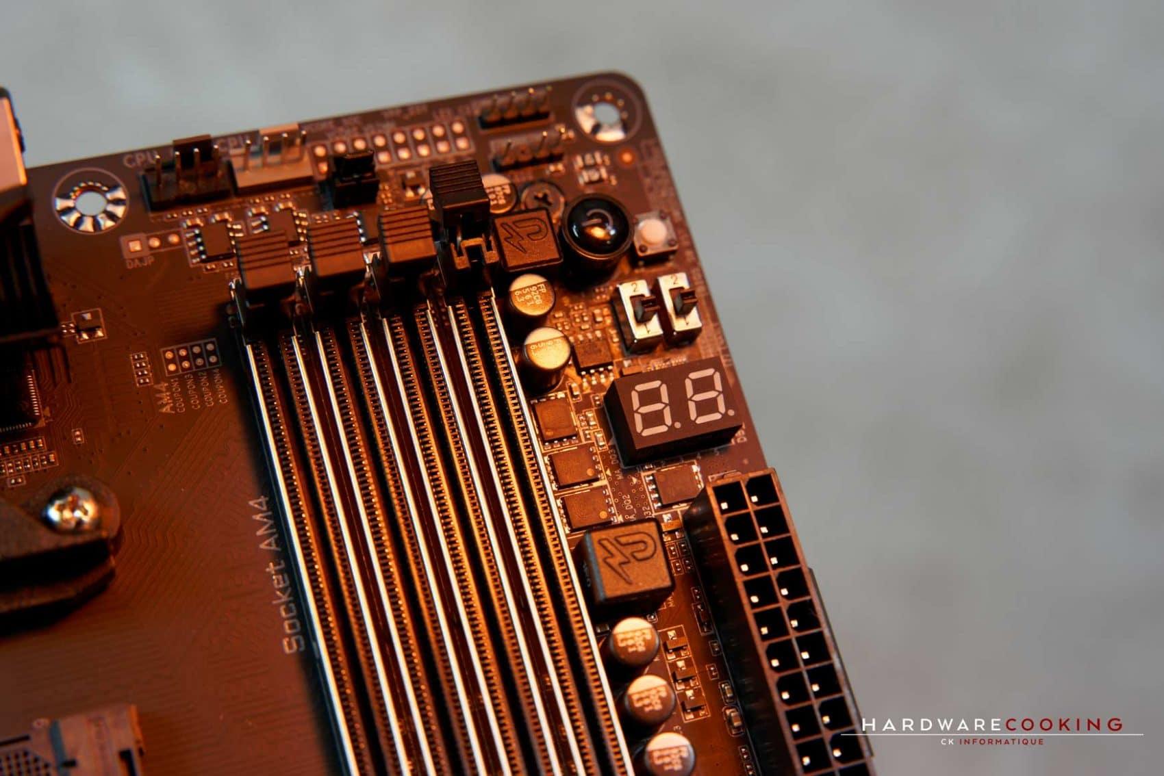 Shooting photo : X570 AORUS MASTER - HardwareCooking