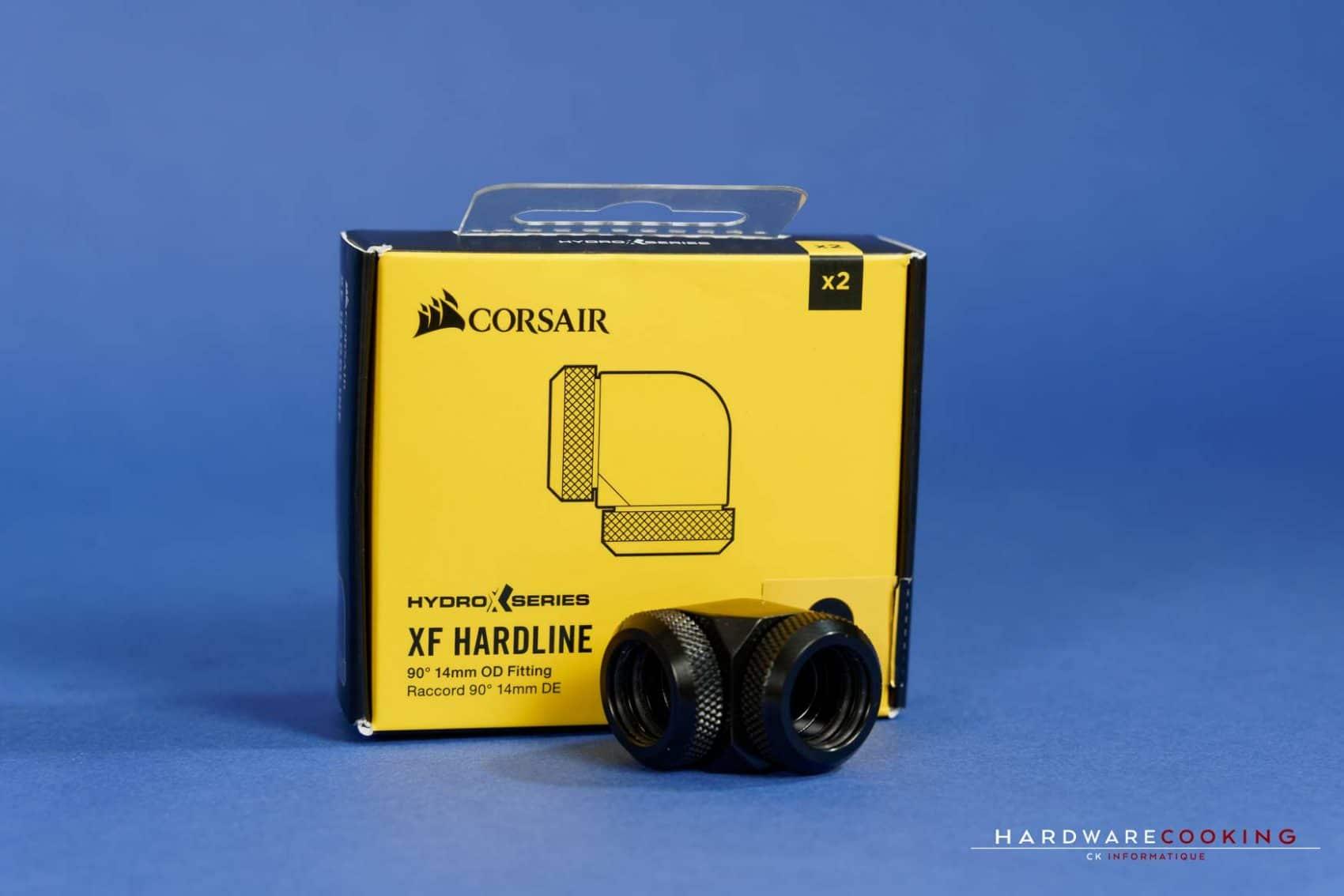 raccord 90° Corsair Hydro X