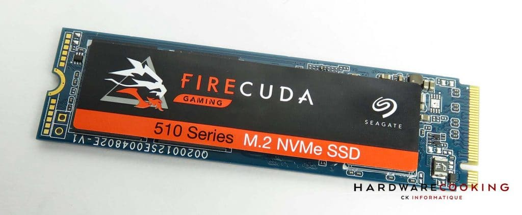 Test SSD Seagate FireCuda 510 1 To