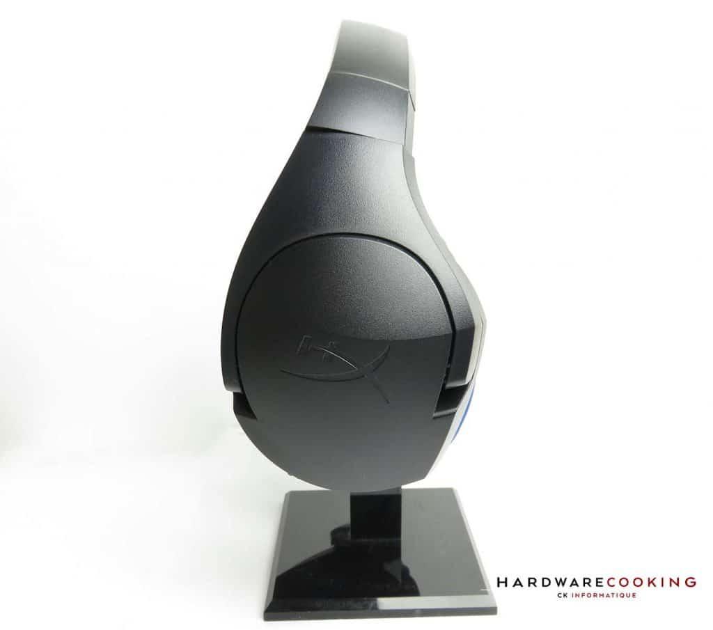 HyperX Cloud Stinger Wireless détail oreillette