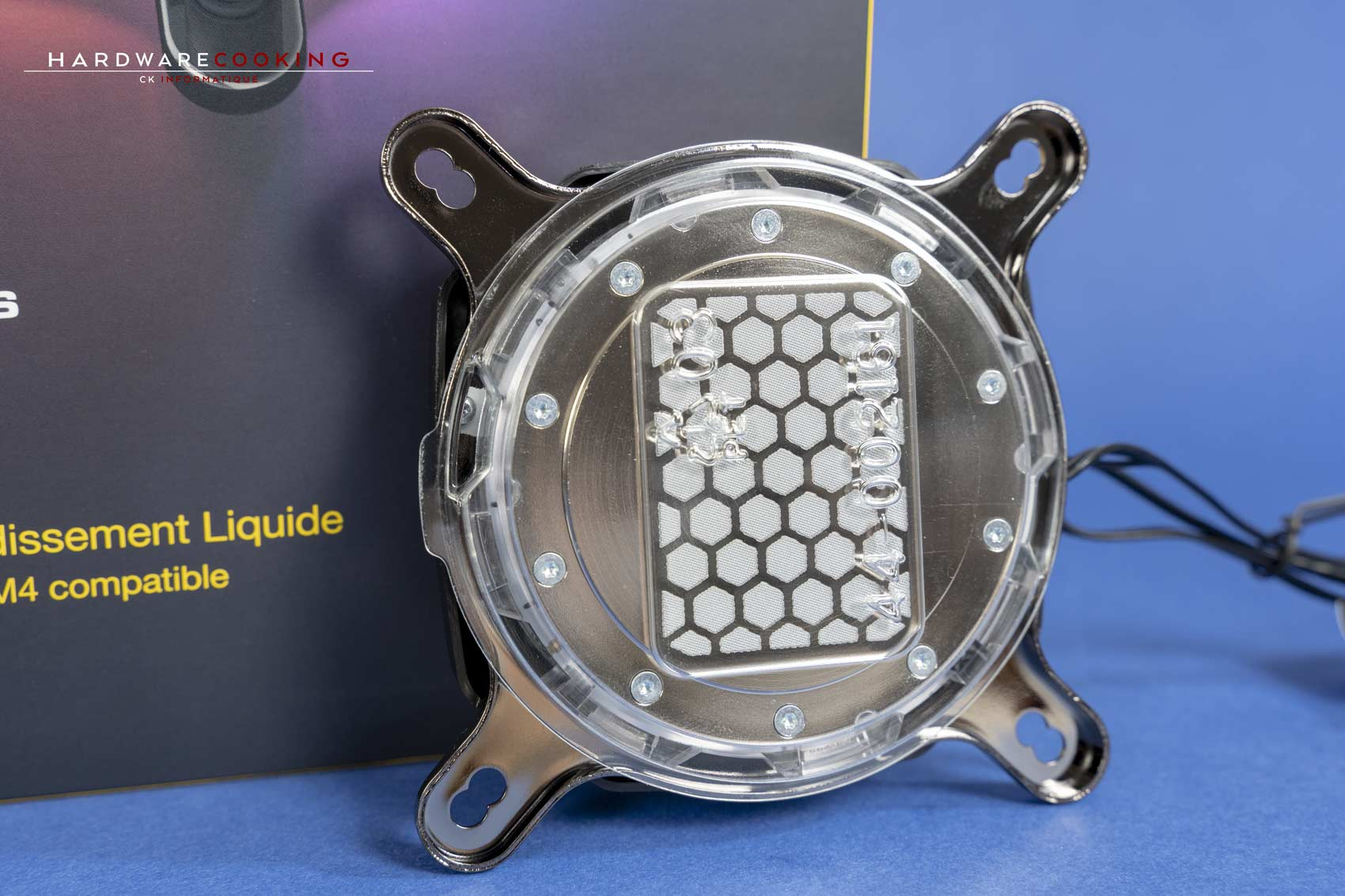 Waterblock CPU Corsair Hydro X XC7 pâte thermique