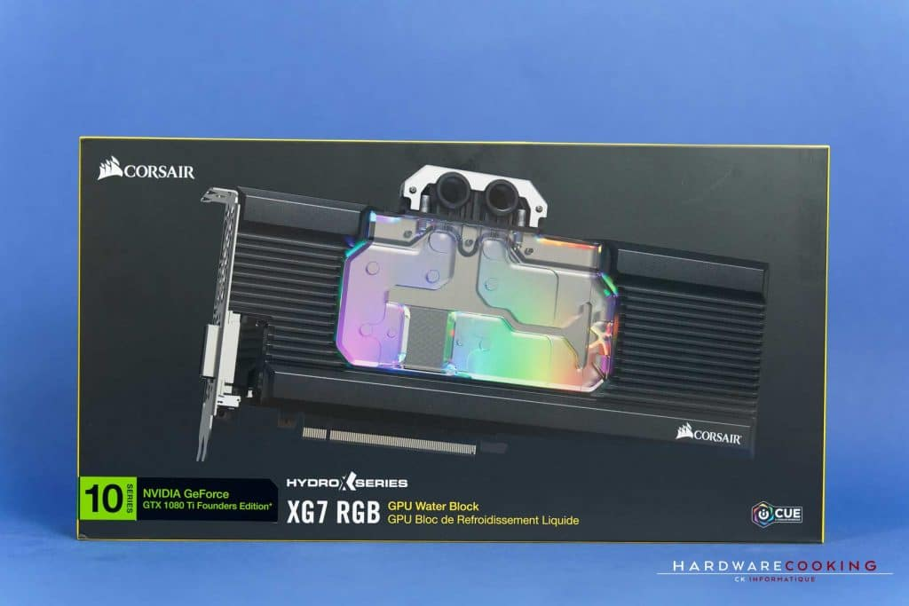Waterblock GPU Corsair Hydro X Series XG7 RGB
