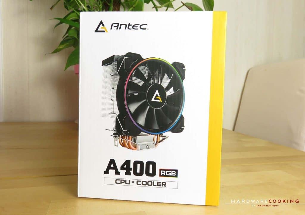ANTEC A400 RGB boîte