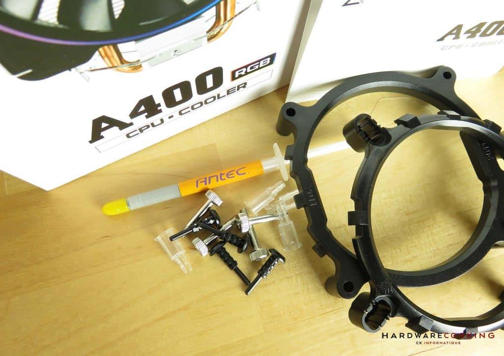 ANTEC A400 RGB bundle