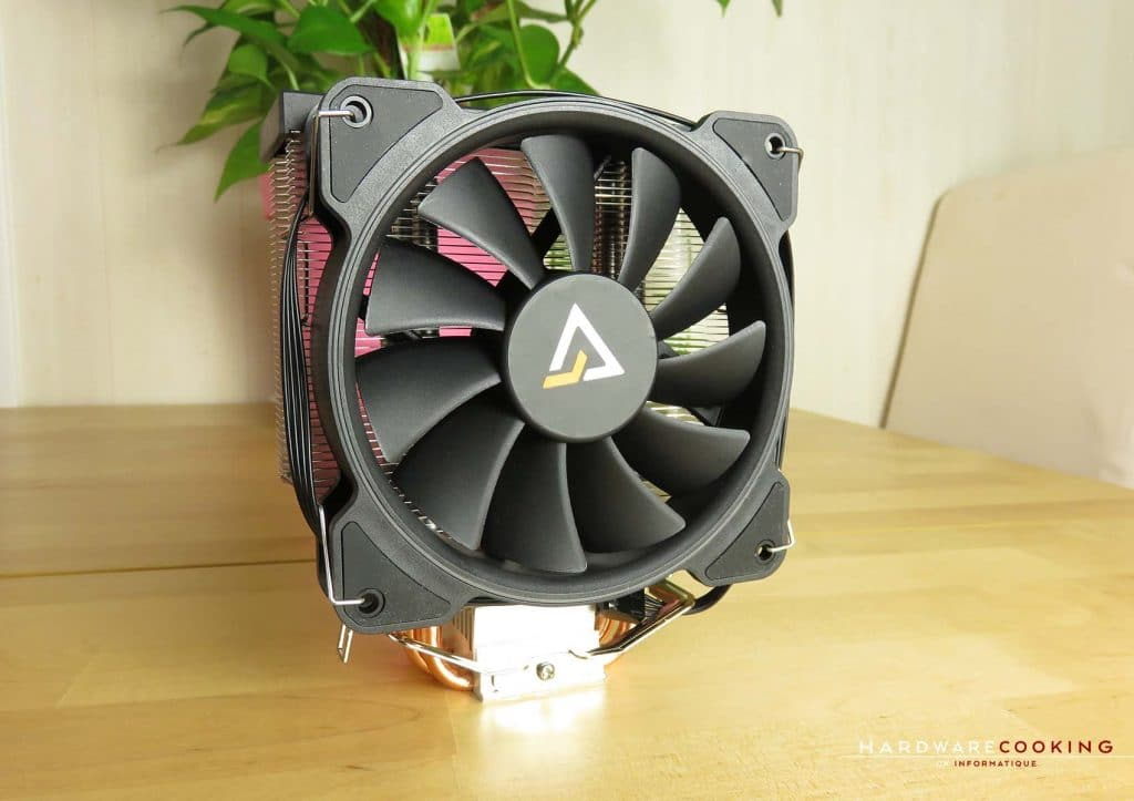 Ventirad ANTEC A400 RGB face