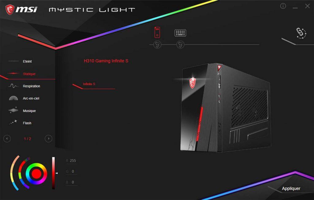 MSI Infinite S Mystic Light