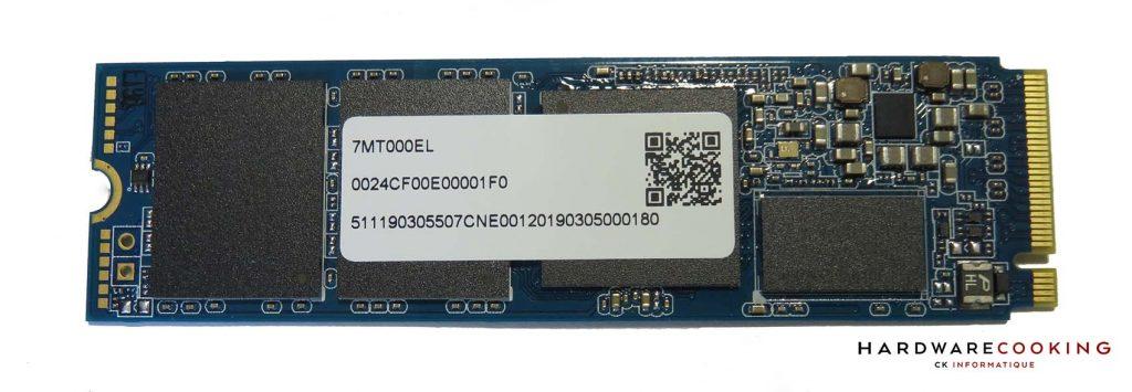 contrôleur et mémoires du SSD