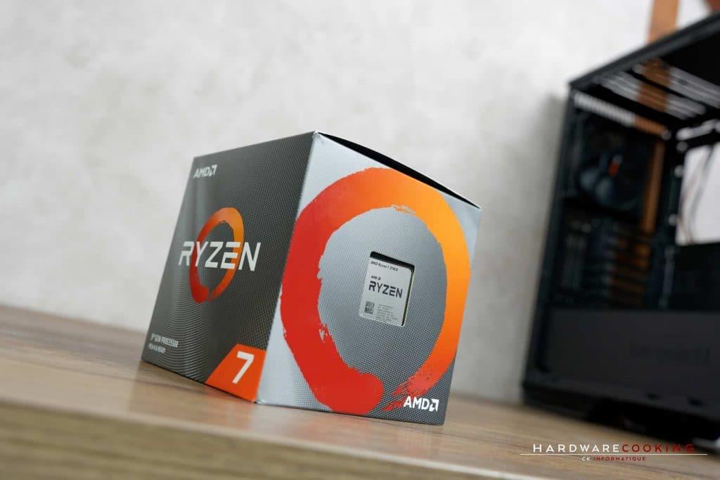 boîte AMD Ryzen 7 3700X
