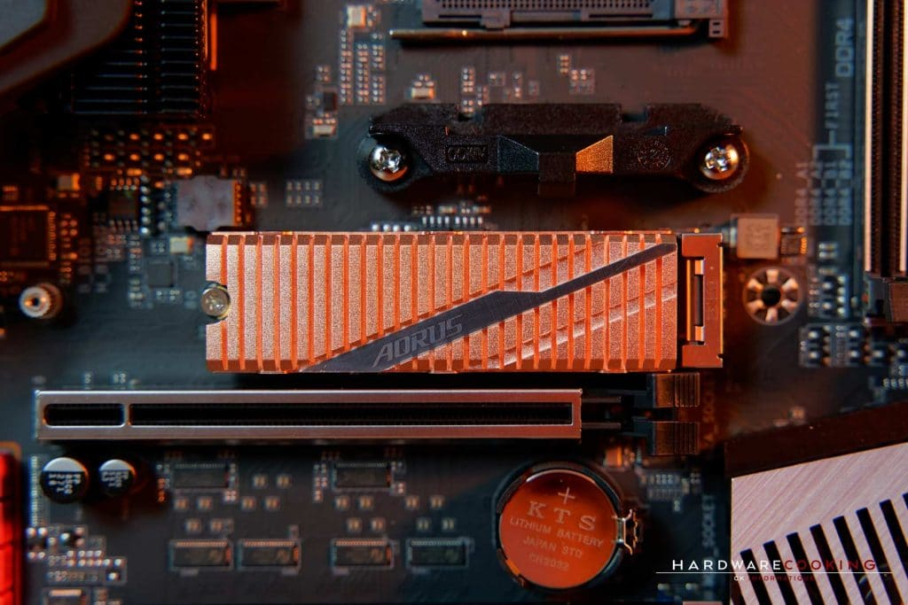 Test SSD Gigtabyte AORUS NVMe Gen4 1 To