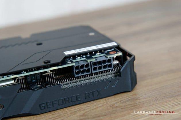 Ports d'alimentation 6 + 8 pins Gigabyte RTX 2060 SUPER