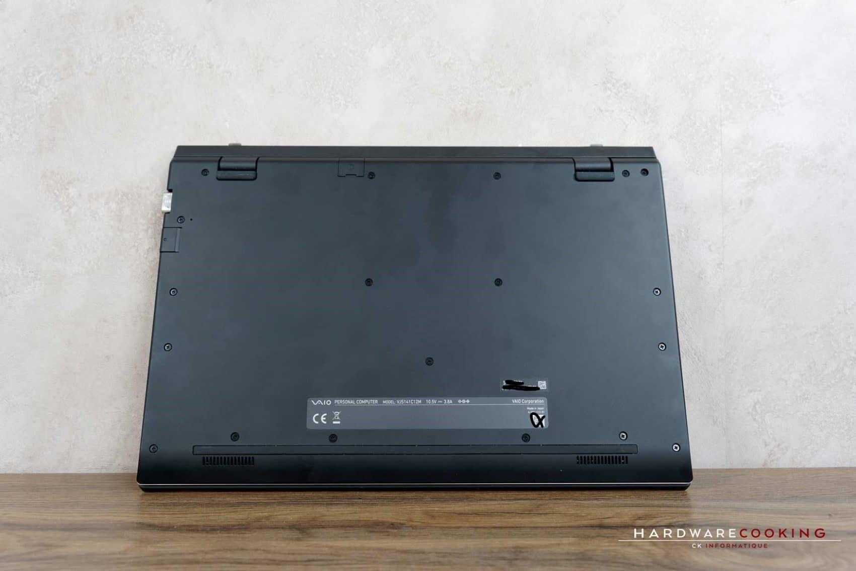 Test laptop VAIO SX14