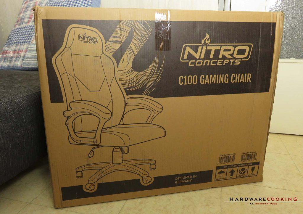 Nitro Concepts C100 carton