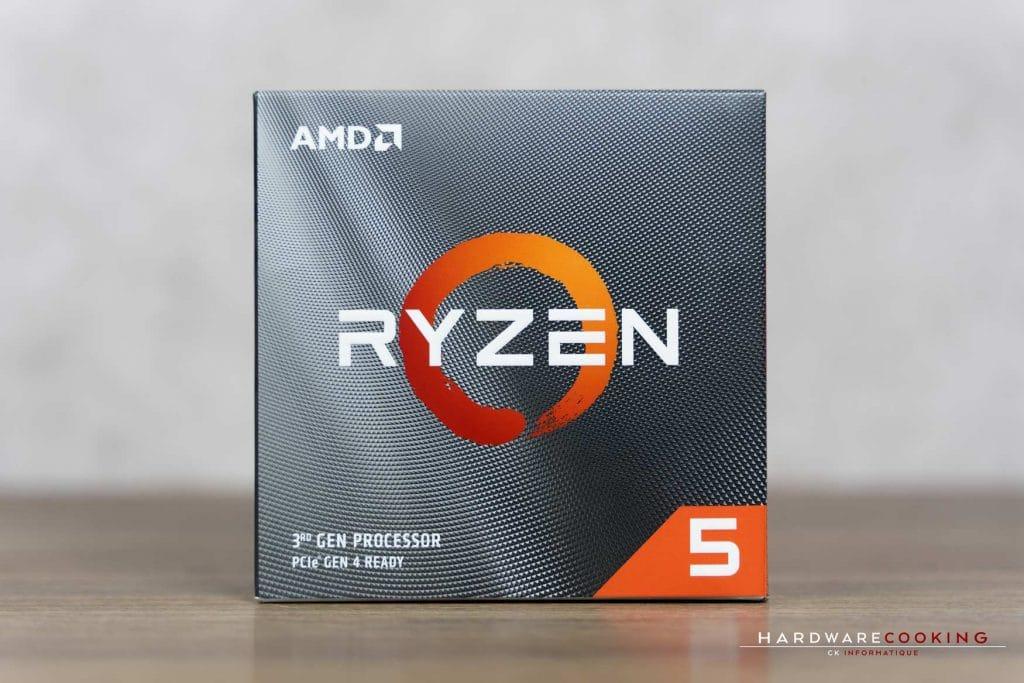 Test processeur AMD Ryzen 5 3600X