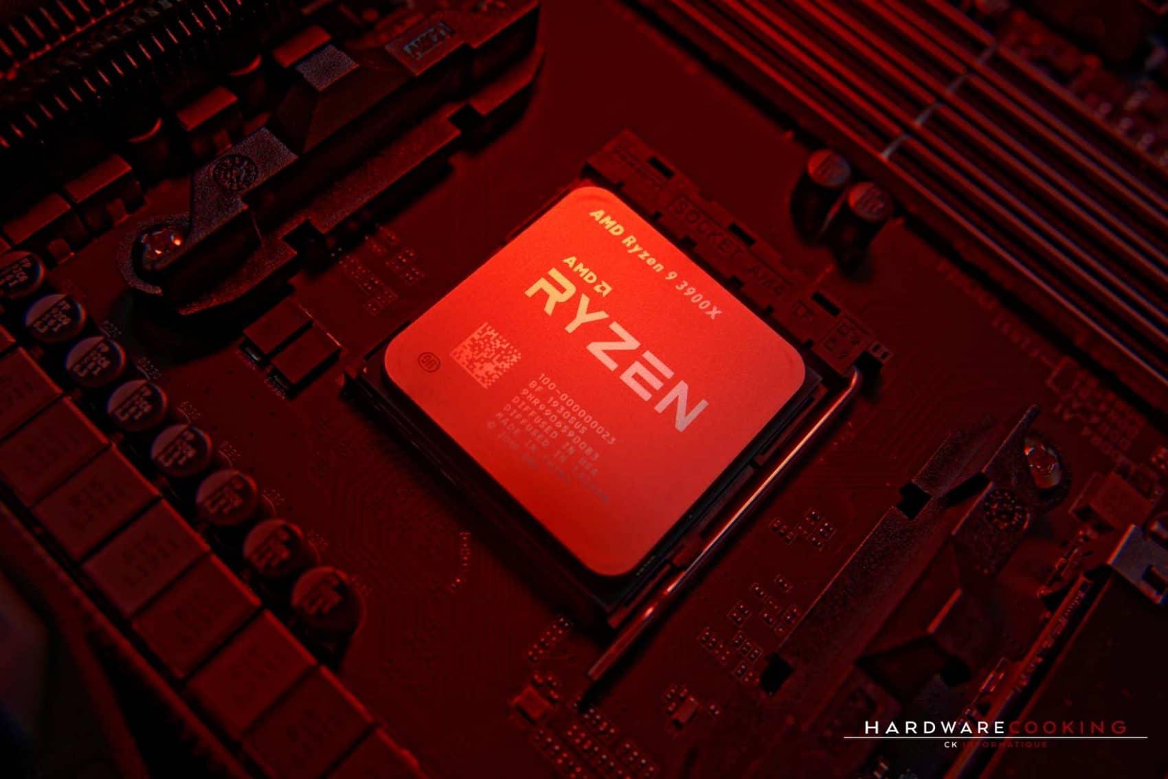 Test CPU AMD Ryzen 9 3900X